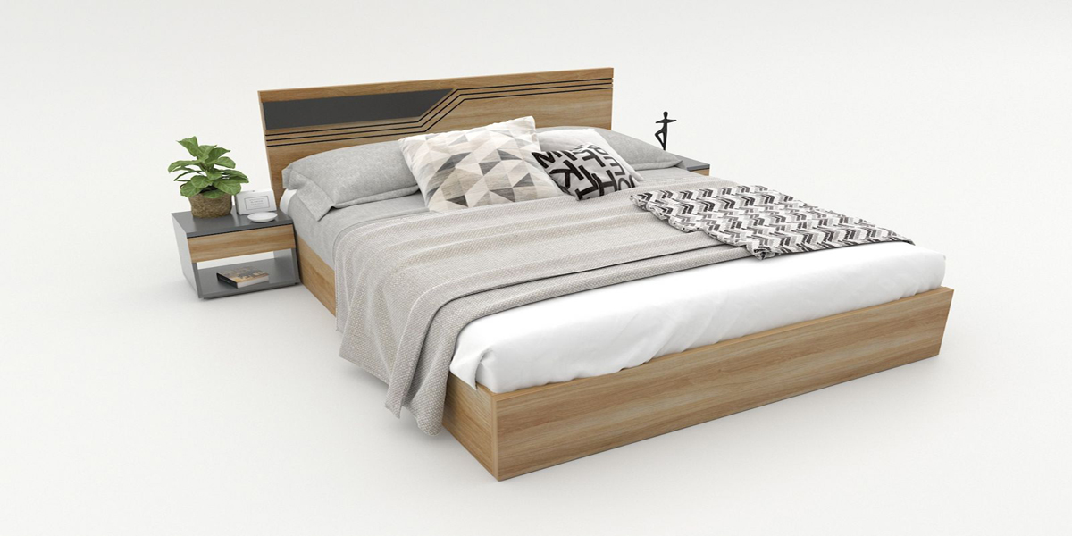 Giá giường ngủ gỗ công nghiệp có đắt không? Một số mẫu tham khảo