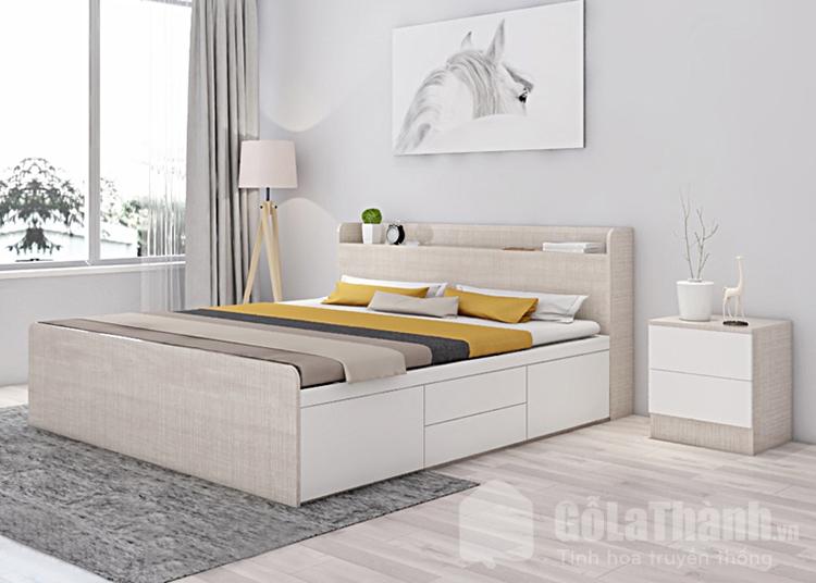 giường ngủ gỗ công nghiệp sang trọng