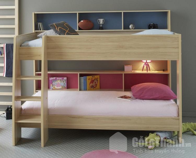giường ngủ tầng gỗ công nghiệp
