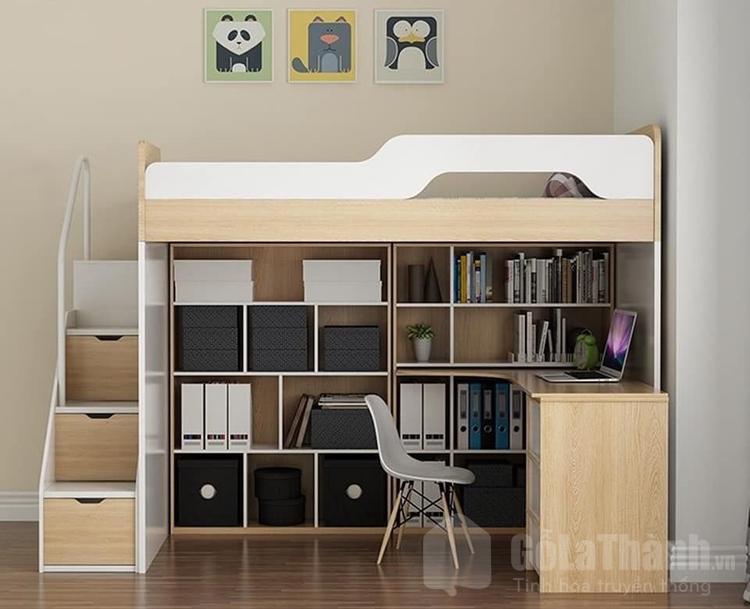 giá giường tầng gỗ công nghiệp
