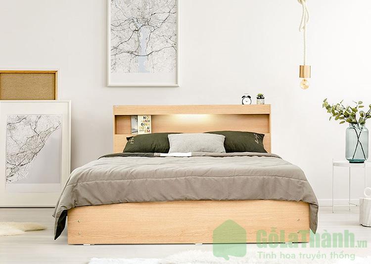 giường 1m4 x 2m có đèn led