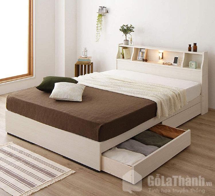 giường ngủ 1m4 x 2m có ngăn kéo