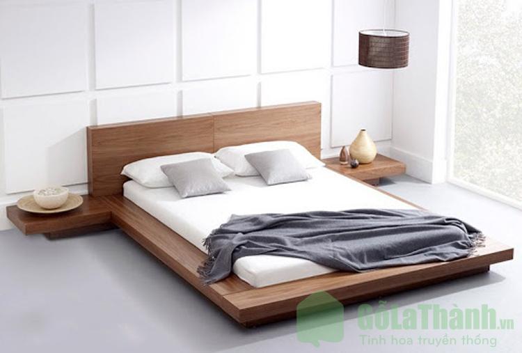 giường 2 người nằm kiểu Nhật