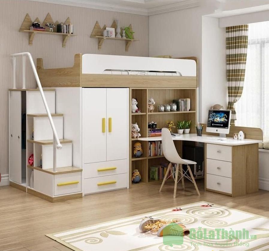 Giường hai tầng cho trẻ em đảm bảo chắc chắn