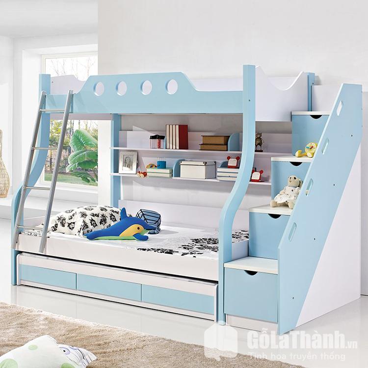 Giường ngủ 2 tầng trẻ em bằng nhựa