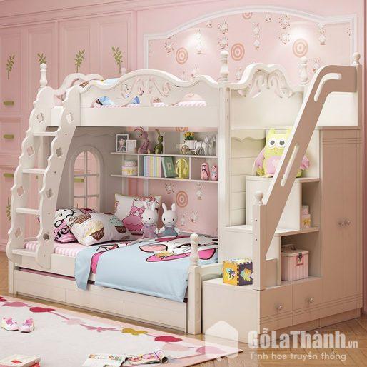 giường tầng gỗ cho bé