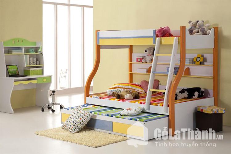 Giường 2 tầng trẻ em cho phòng ngủ nhỏ