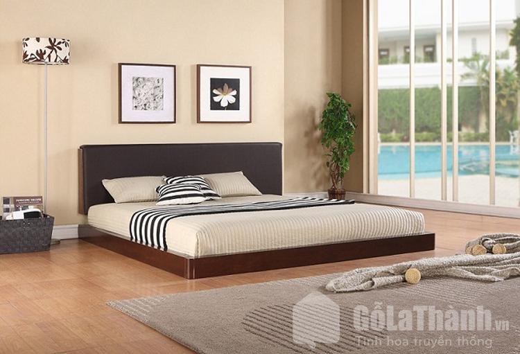 giường dạng phản gỗ tự nhiên