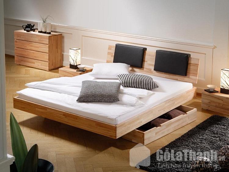giường ngủ 2m2x2m có ngăn kéo