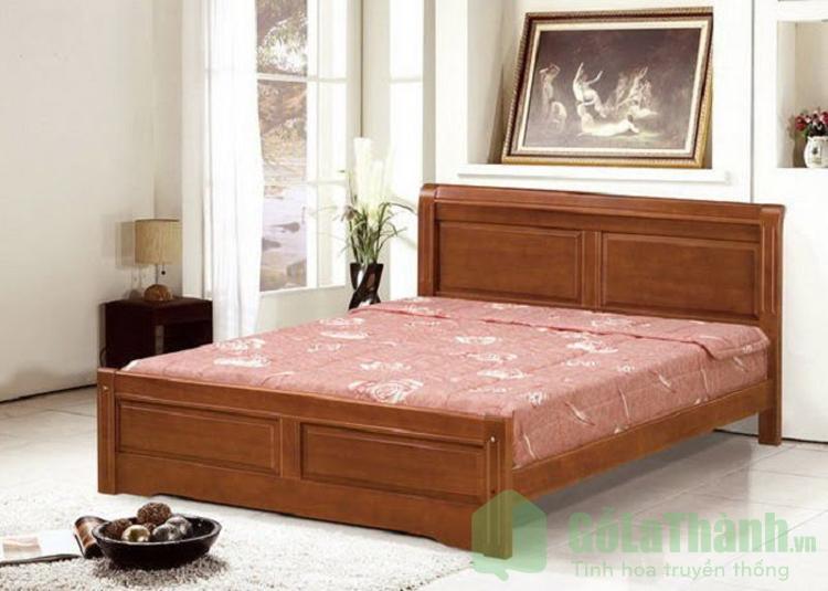 Giường gỗ 2m