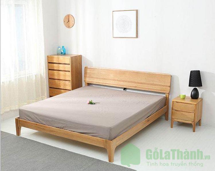 giường ngủ 2m bằng gỗ