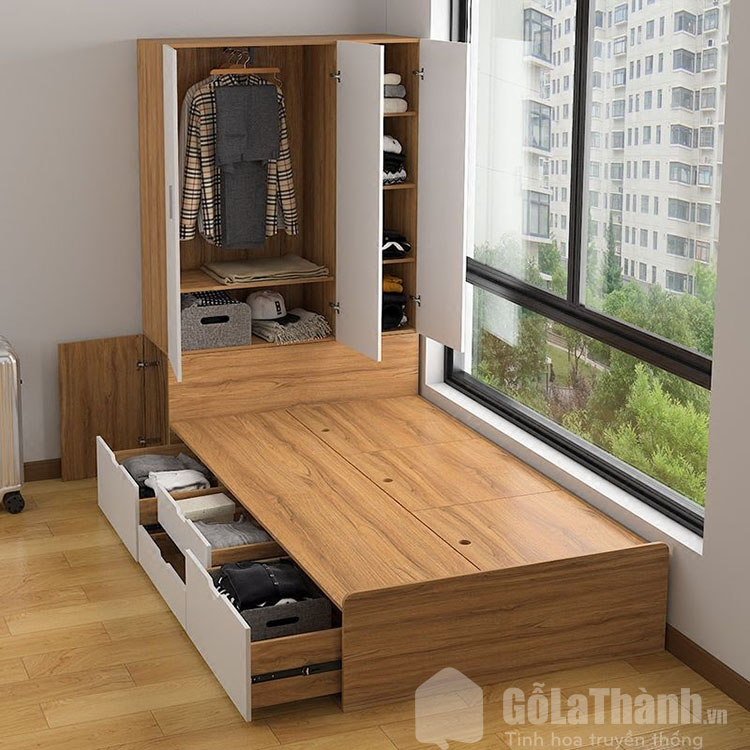 giường có ngăn kéo hiện đại