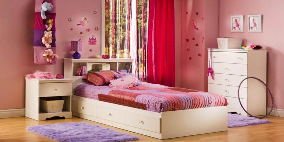 TOP mẫu giường đơn cho bé gái được ưa chuộng nhất hiện nay
