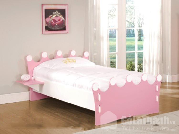 giường đơn cho bé gái