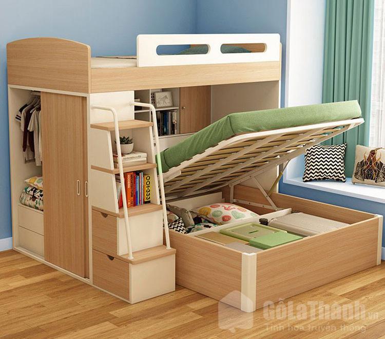 Thiết kế tích hợp nhiều nội thất
