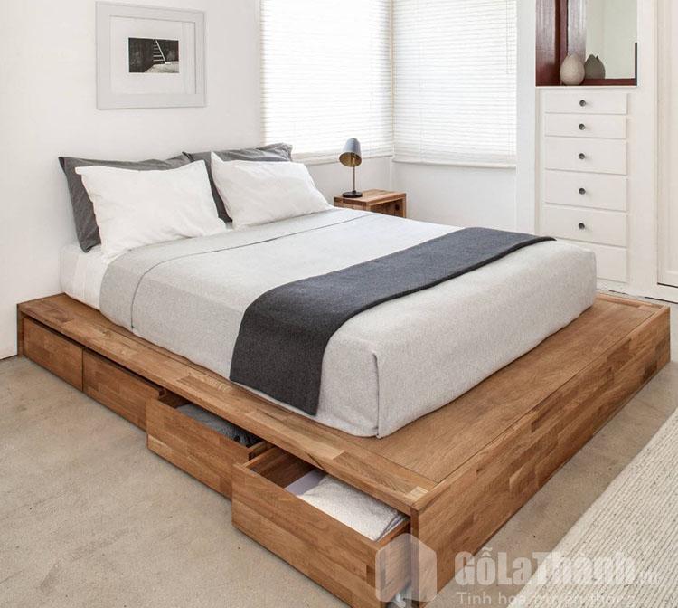 giường đơn giản