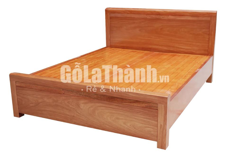 giường ngủ đôi bằng gỗ
