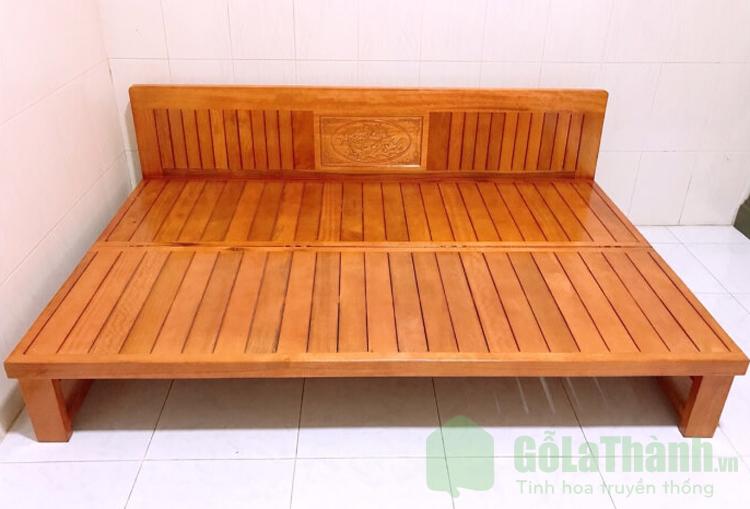 thiết kế gập gọn bằng gỗ tự nhiên