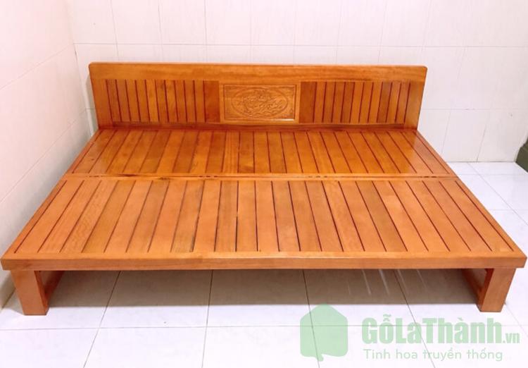 giường gấp gỗ