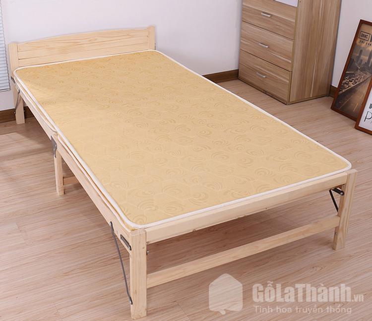 giường gấp bằng gỗ