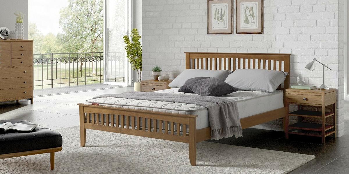 giường gỗ 1m4
