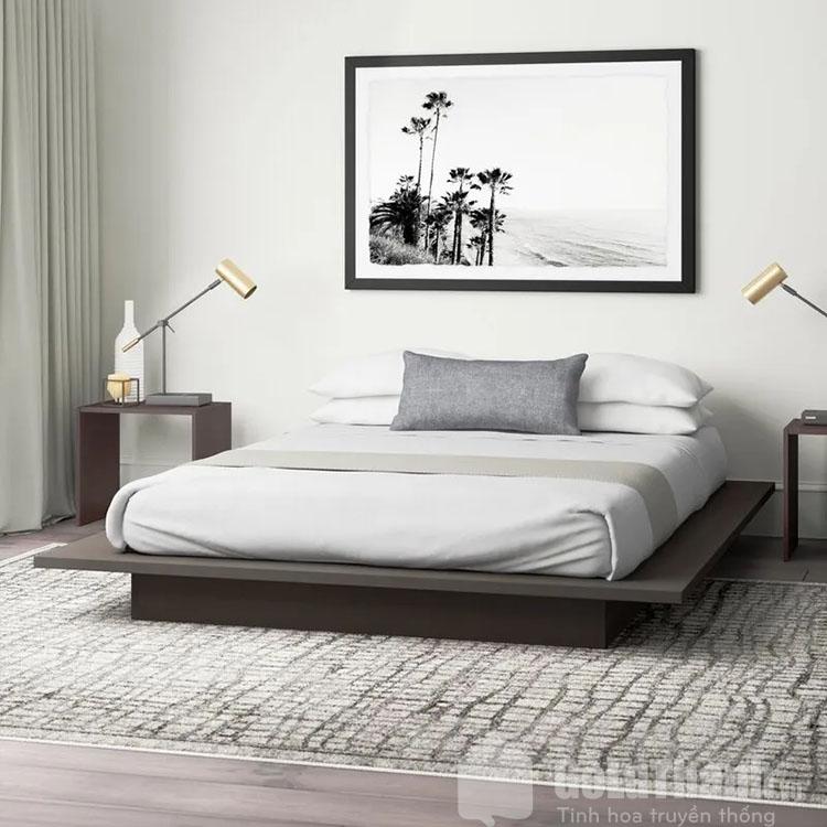 giường gỗ bệt