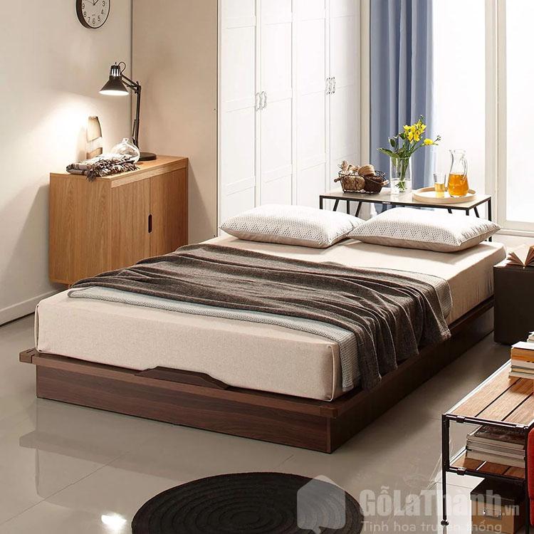giường gỗ đơn giản