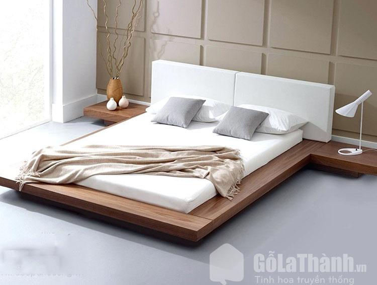 giường gỗ đẹp hiện đại