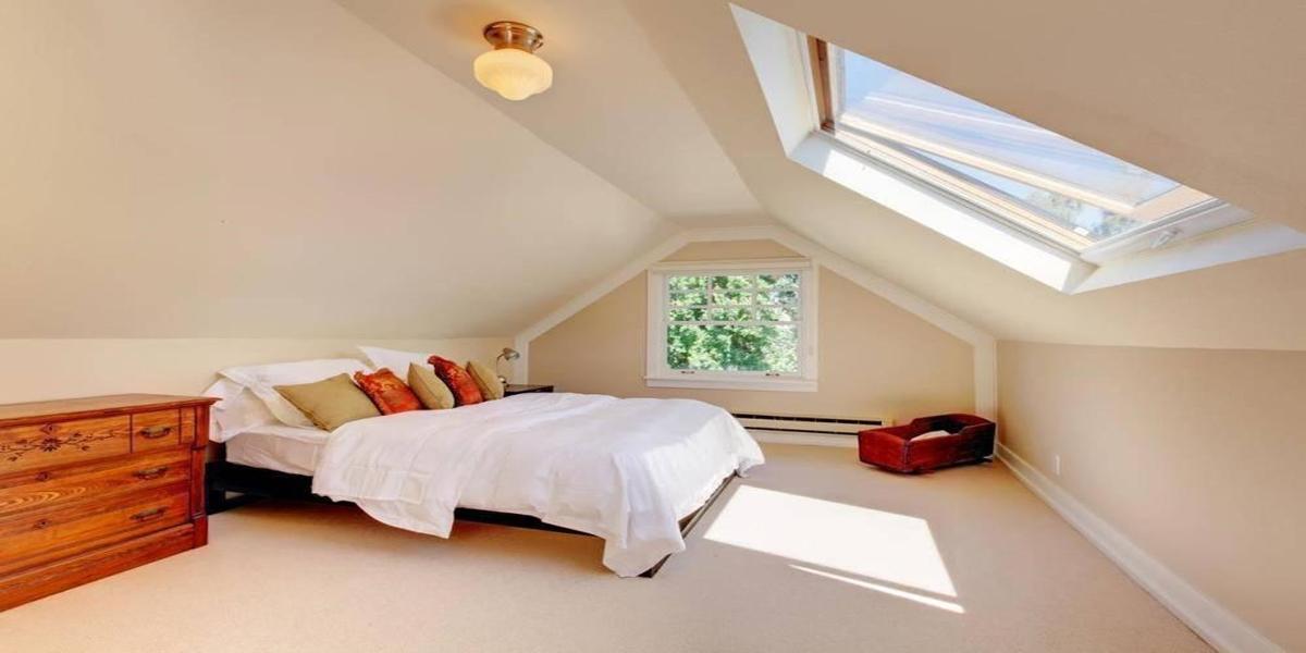 Các mẫu giường gỗ nhỏ cho phòng ngủ tầng áp mái