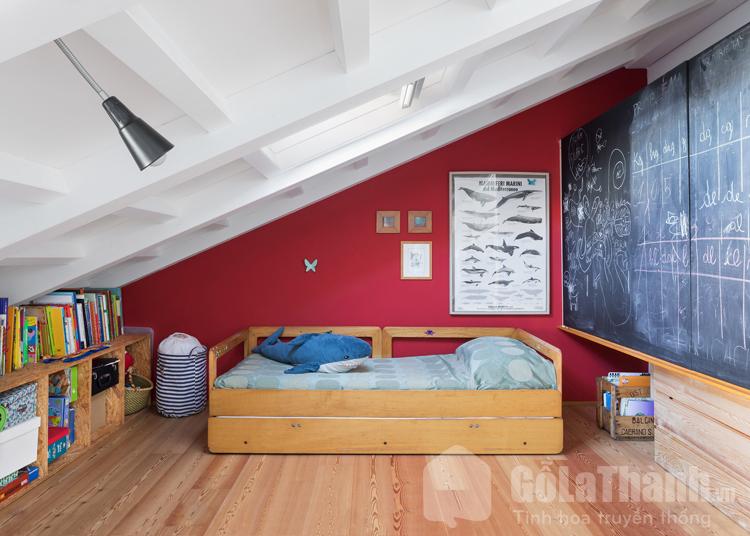 giường gỗ nhỏ