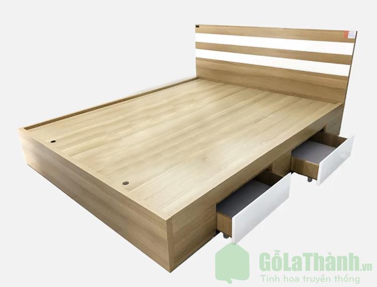 giường m6 gỗ công nghiệp