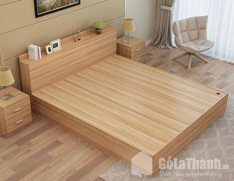 giường ngủ m6 gỗ công nghiệp