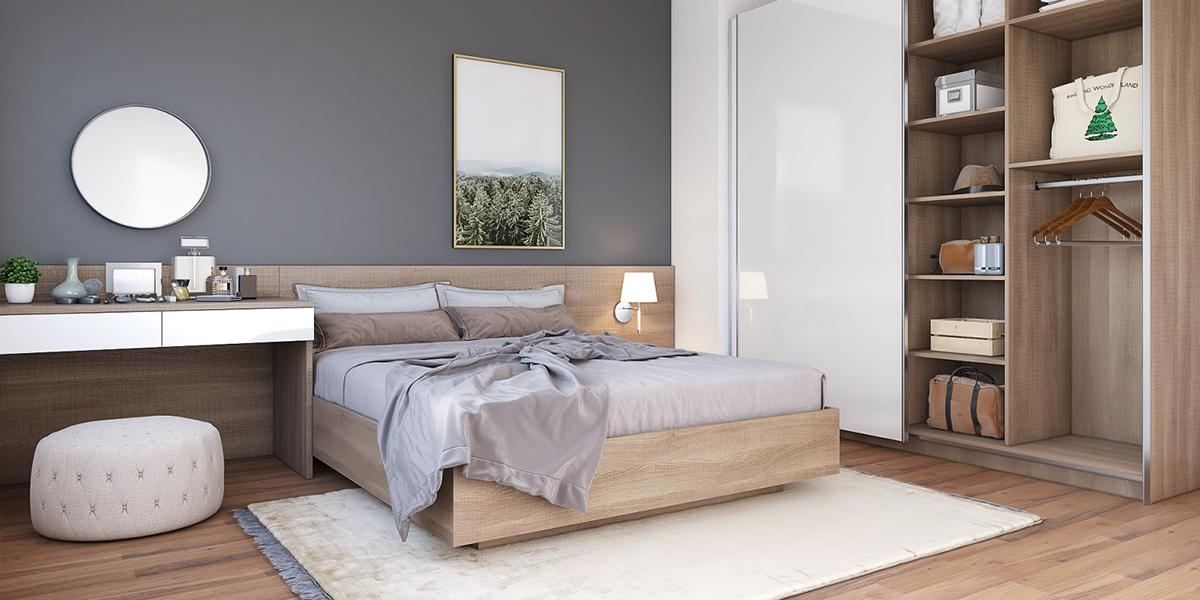 Cùng tìm hiểu chi tiết về các mẫu giường melamine hiện đại