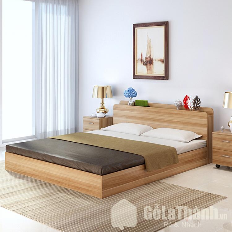 giường melamine