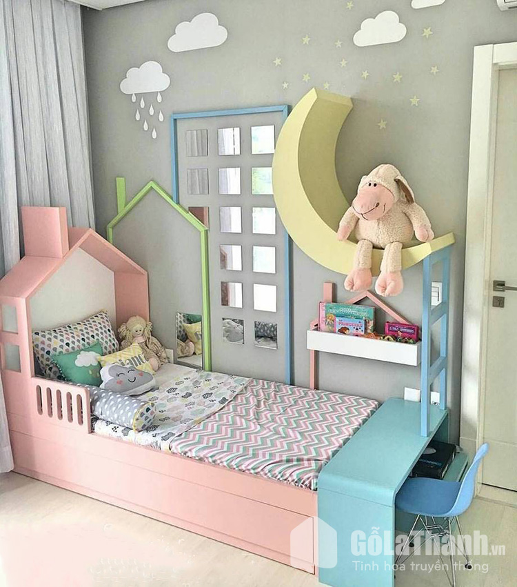 giường ngủ mini cho bé