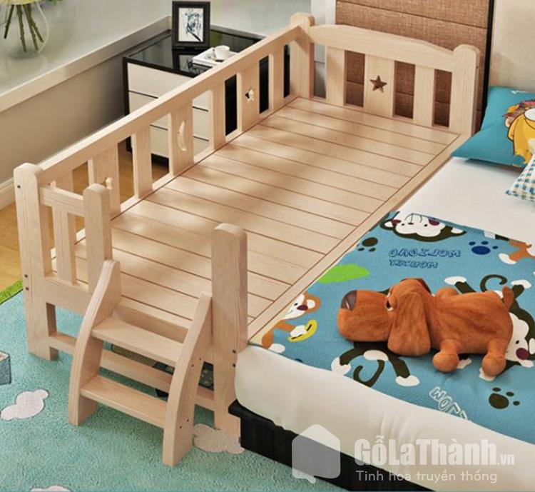 Giường ngủ mini an toàn cho bé