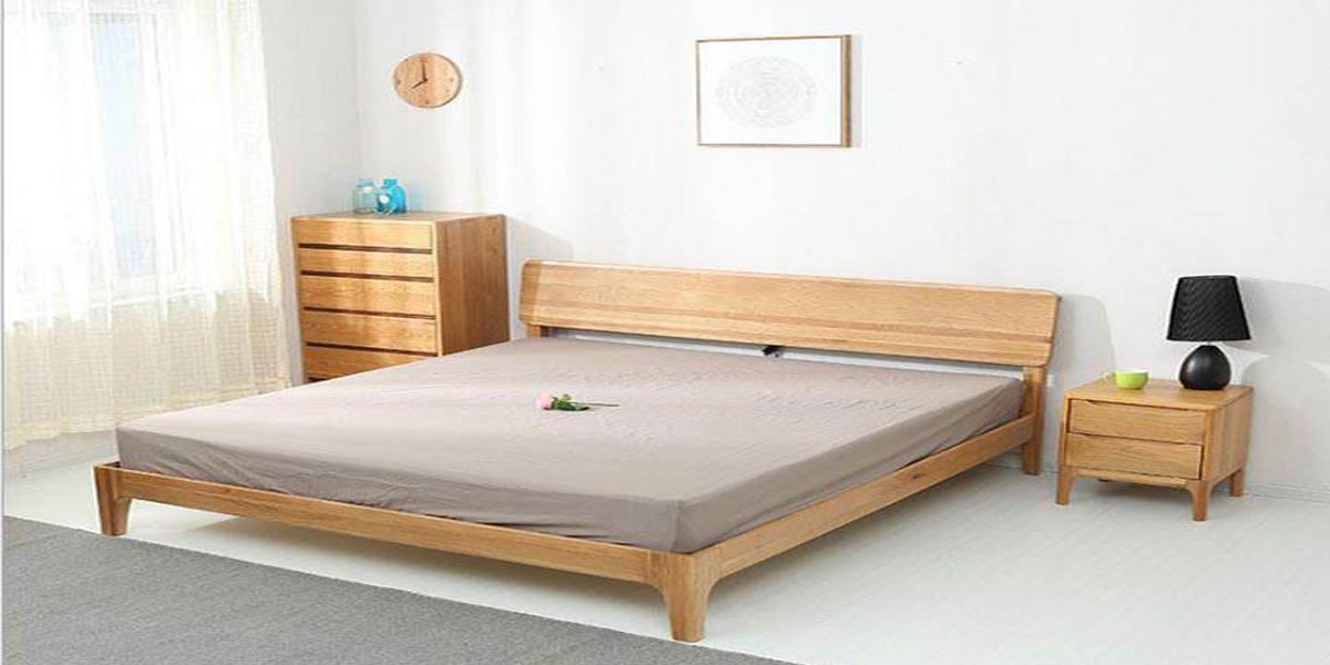 Những mẫu giường ngủ 1m8x2m bằng gỗ tự nhiên không thể bỏ qua
