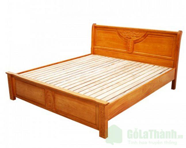 giường ngủ 2 người bằng gỗ tự nhiên
