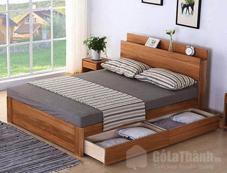 giường ngủ 2 người có ngăn kéo