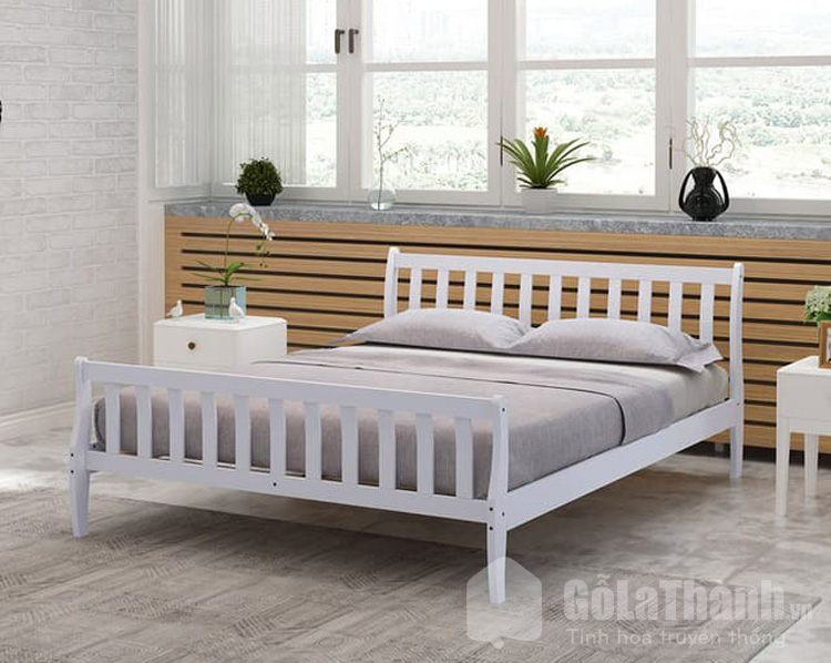 thiết kế hiện đại với màu sơn trắng