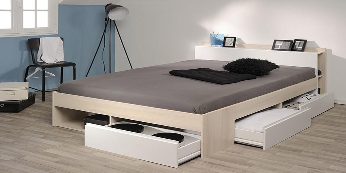 Giường ngủ có ngăn kéo màu trắng có gì đặc biệt? Tại sao bạn nên mua?