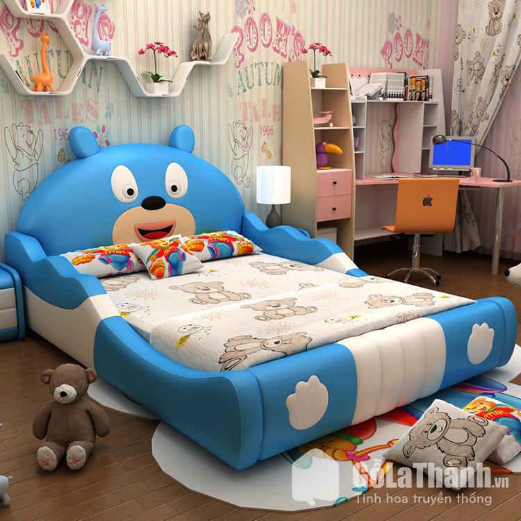 Giường ngủ cute hình gấu đáng yêu