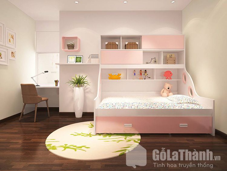 Lựa chọn giường cho bé theo độ tuổi