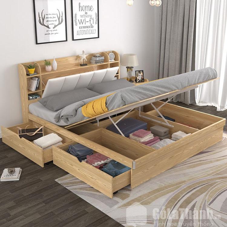 kiểu giường ngủ có ngăn kéo thông minh