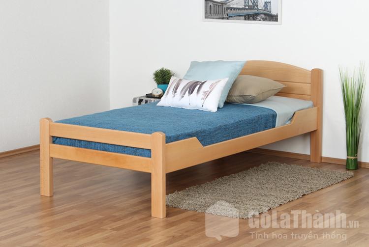 giường ngủ bằng gỗ 4 chân cao