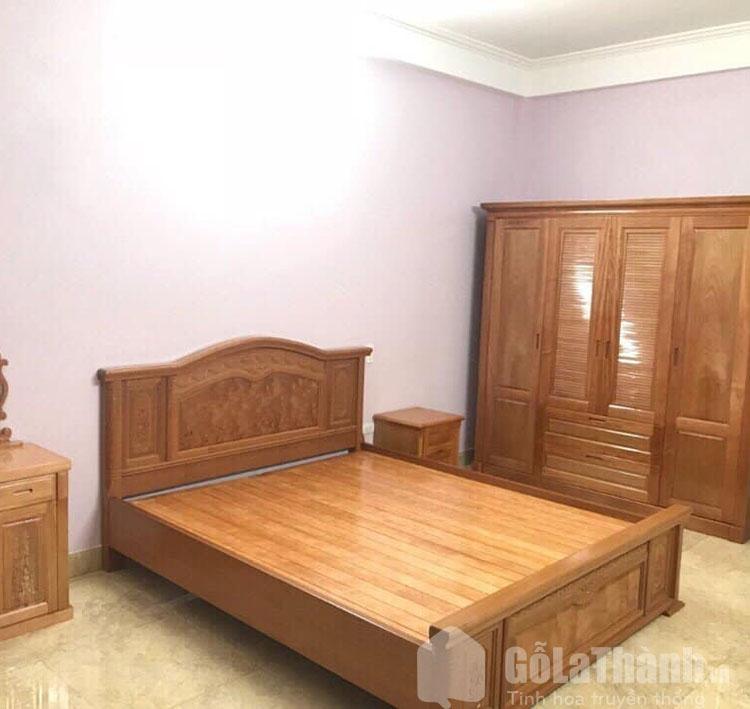 giường ngủ gỗ đinh hương