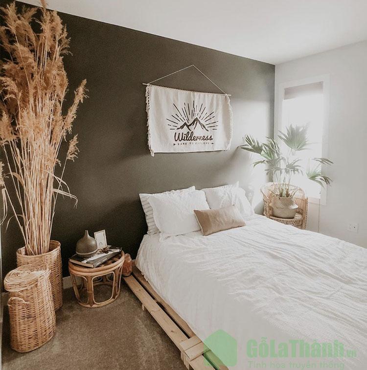 giường ngủ gỗ pallet