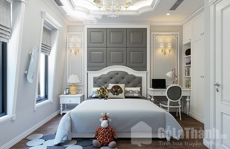 phòng theo phong cách tân cổ điển