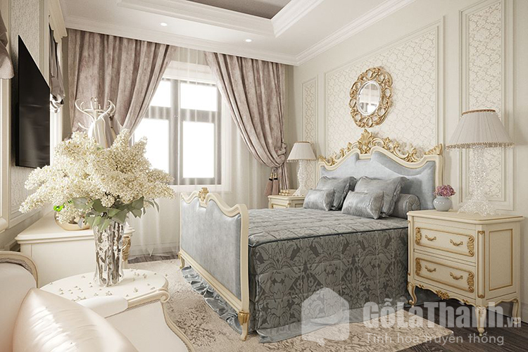 phòng theo phong cách cổ điển
