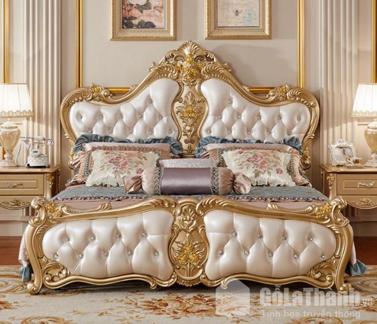 giường ngủ nữ hoàng
